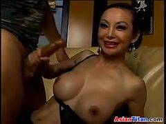 Dirty Mature Asian Fucked In The Ass