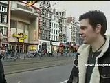 Bitch with small tits gets payed in Amsterdam to suck cock and to get fucked
