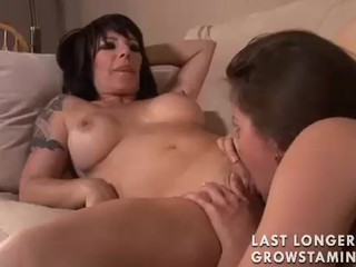 Have Lesbian pussy and tits