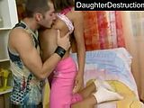 Brutal daughter abuse