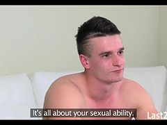 he gets selfish and surprises her with creampie