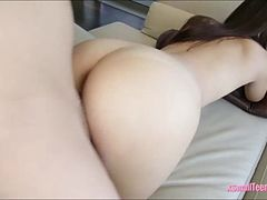 Ariana Grand pounded and swallows cum