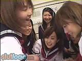 Japanese Schoolgirls After School Party 3