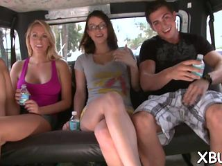 Girls fucking in cars slut load