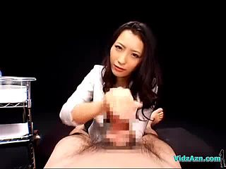 Girl handjob asian