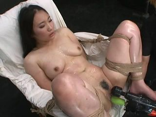 machine fucking Asian girl
